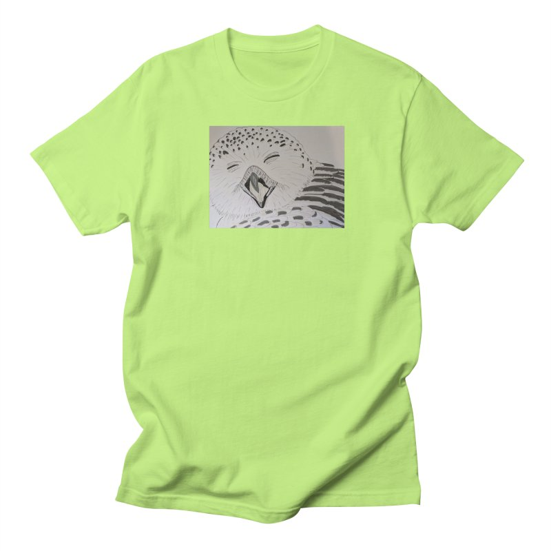Laughing Owl Men's T-shirt by Whimsical Wildlife Wares