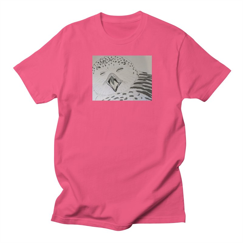 Laughing Owl Women's Unisex T-Shirt by Whimsical Wildlife Wares