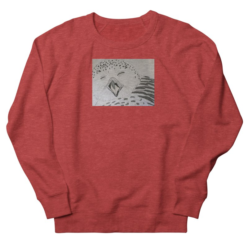 Laughing Owl Women's Sweatshirt by Whimsical Wildlife Wares