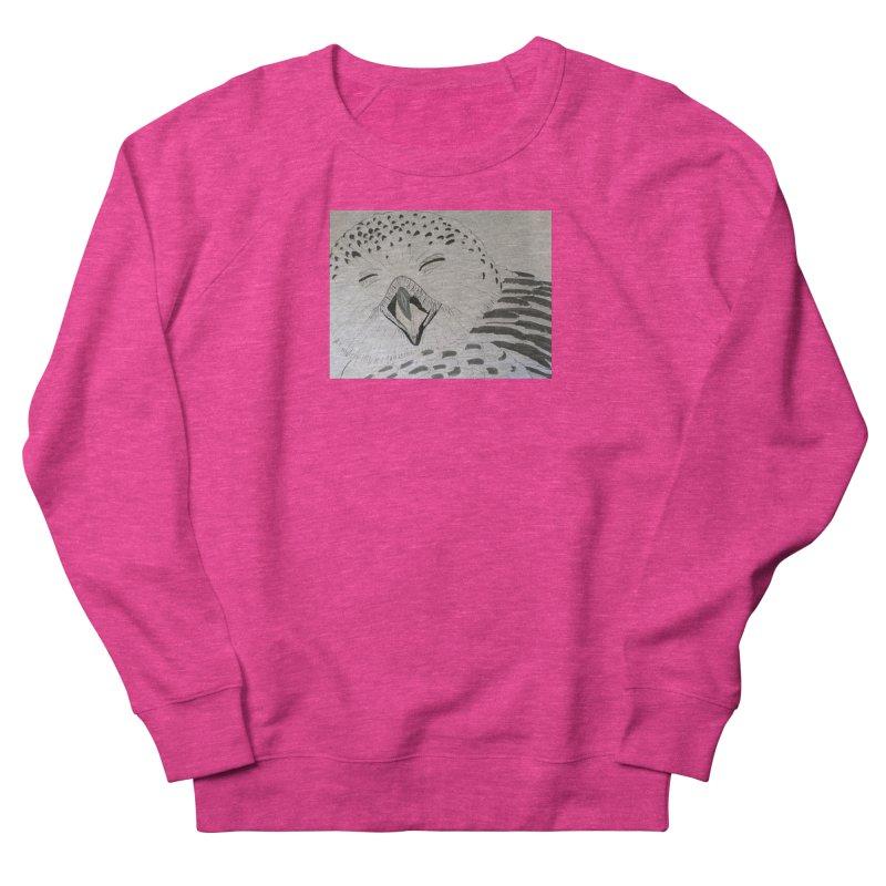 Laughing Owl Men's Sweatshirt by Whimsical Wildlife Wares