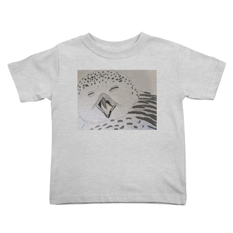 Laughing Owl Kids Toddler T-Shirt by Whimsical Wildlife Wares