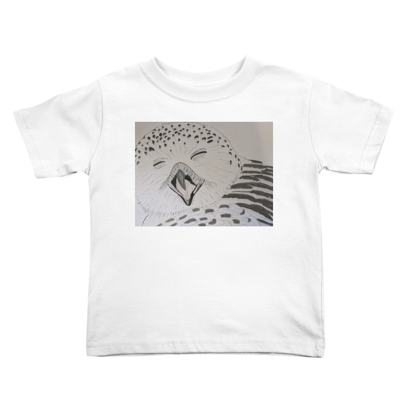 Laughing Owl Kids Toddler T-Shirt by Whimsical Wildlife Wares