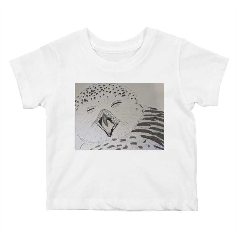 Laughing Owl Kids Baby T-Shirt by Whimsical Wildlife Wares