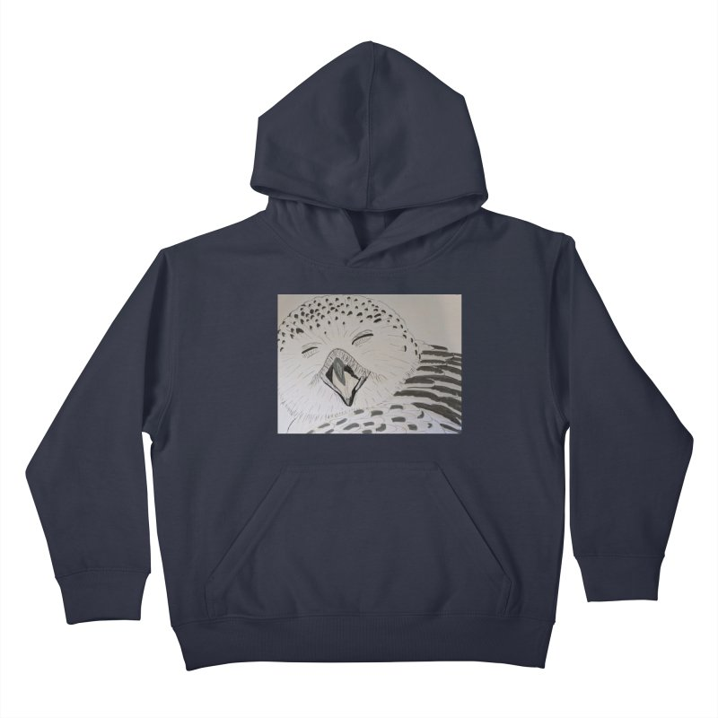 Laughing Owl Kids Pullover Hoody by Whimsical Wildlife Wares