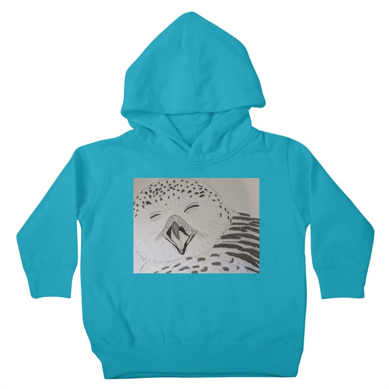 Laughing Owl Kids Toddler Pullover Hoody by Whimsical Wildlife Wares