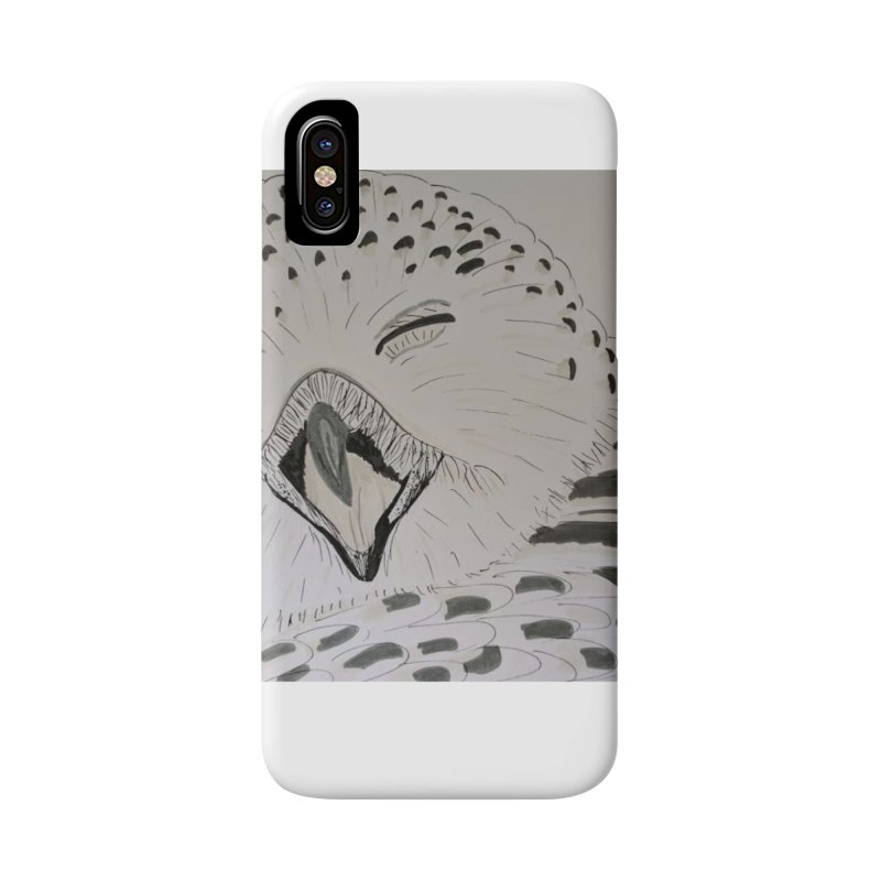 Laughing Owl Accessories Phone Case by Whimsical Wildlife Wares