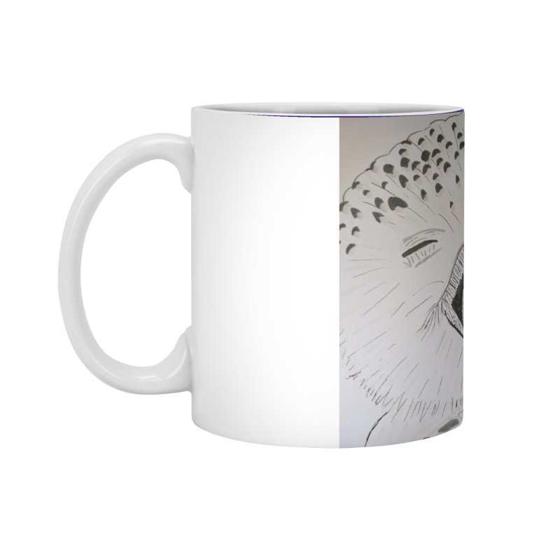 Laughing Owl Accessories Mug by Whimsical Wildlife Wares