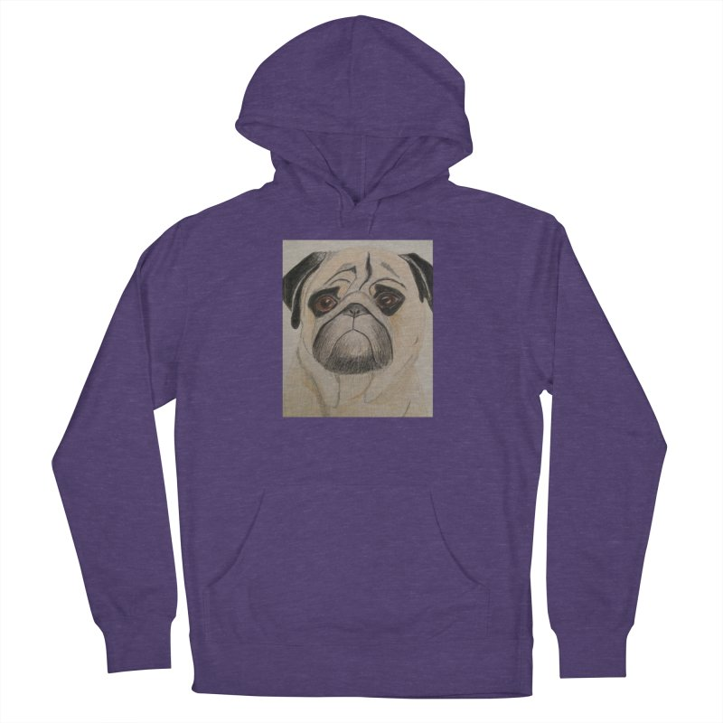 Pug Women's Pullover Hoody by Whimsical Wildlife Wares