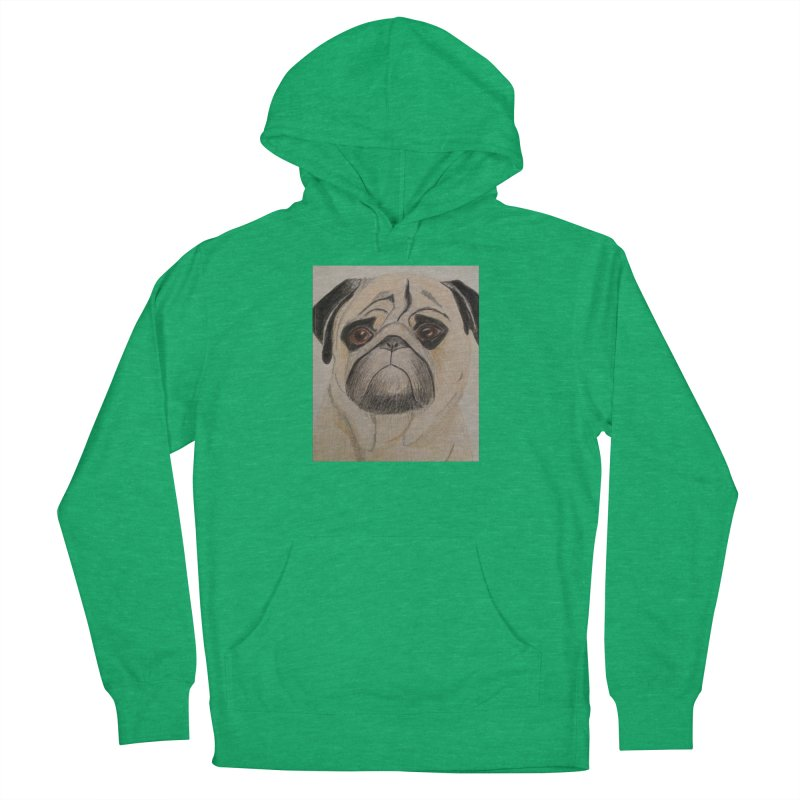 Pug Men's Pullover Hoody by Whimsical Wildlife Wares