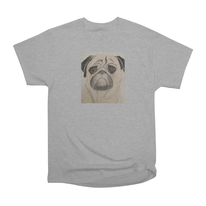 Pug Men's Classic T-Shirt by Whimsical Wildlife Wares