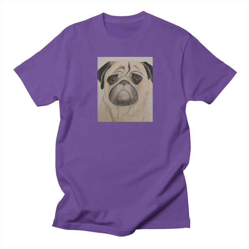 Pug Women's Unisex T-Shirt by Whimsical Wildlife Wares