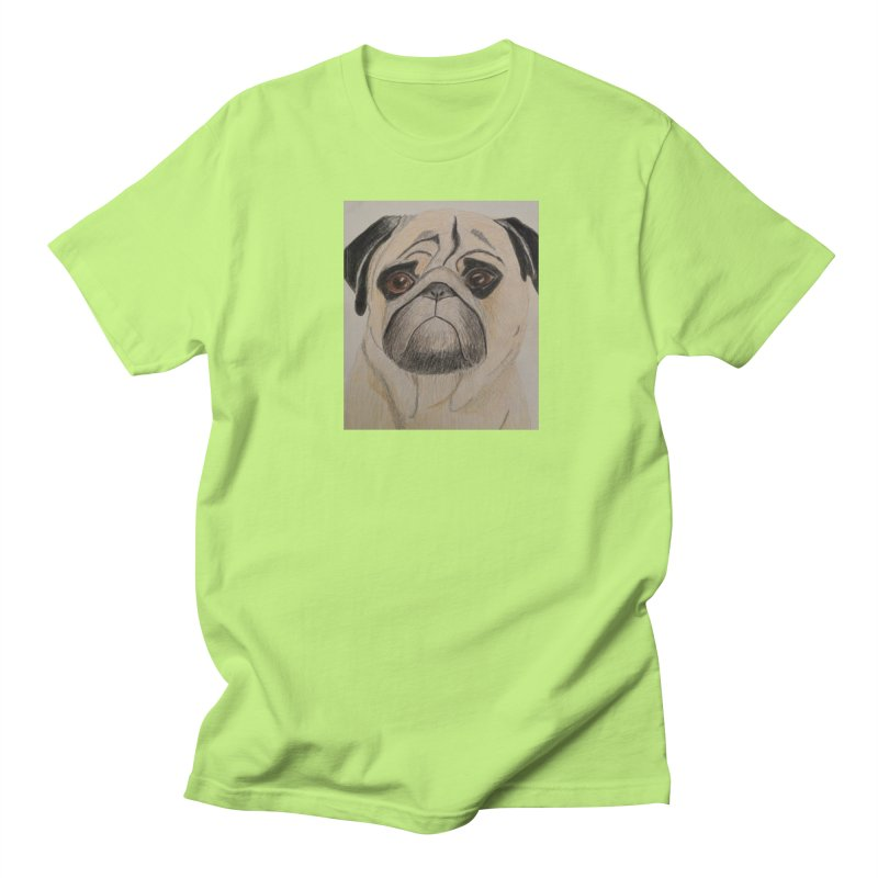 Pug Men's T-shirt by Whimsical Wildlife Wares