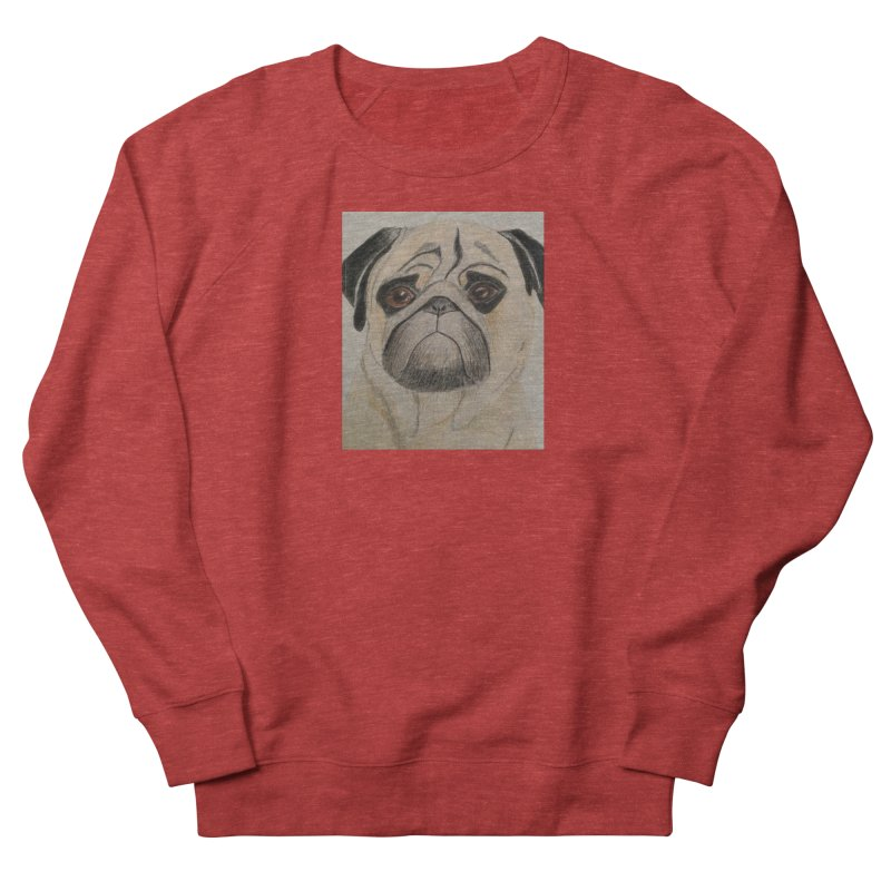 Pug Women's Sweatshirt by Whimsical Wildlife Wares