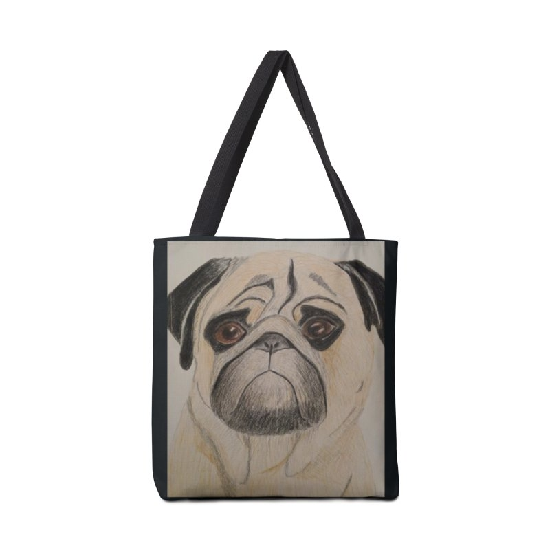 Pug Accessories Bag by Whimsical Wildlife Wares