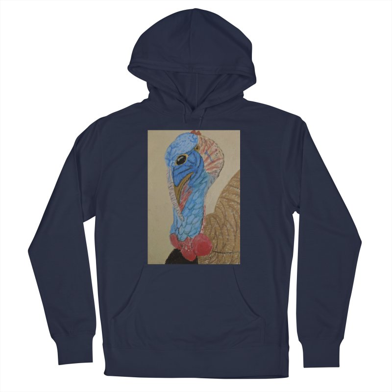 Turkey Men's Pullover Hoody by Whimsical Wildlife Wares