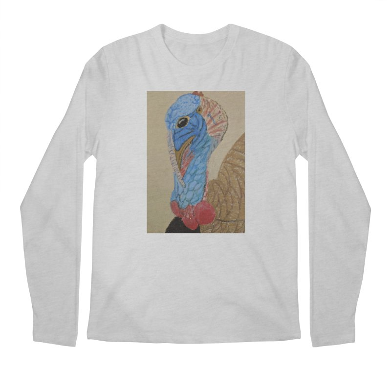Turkey Men's Longsleeve T-Shirt by Whimsical Wildlife Wares