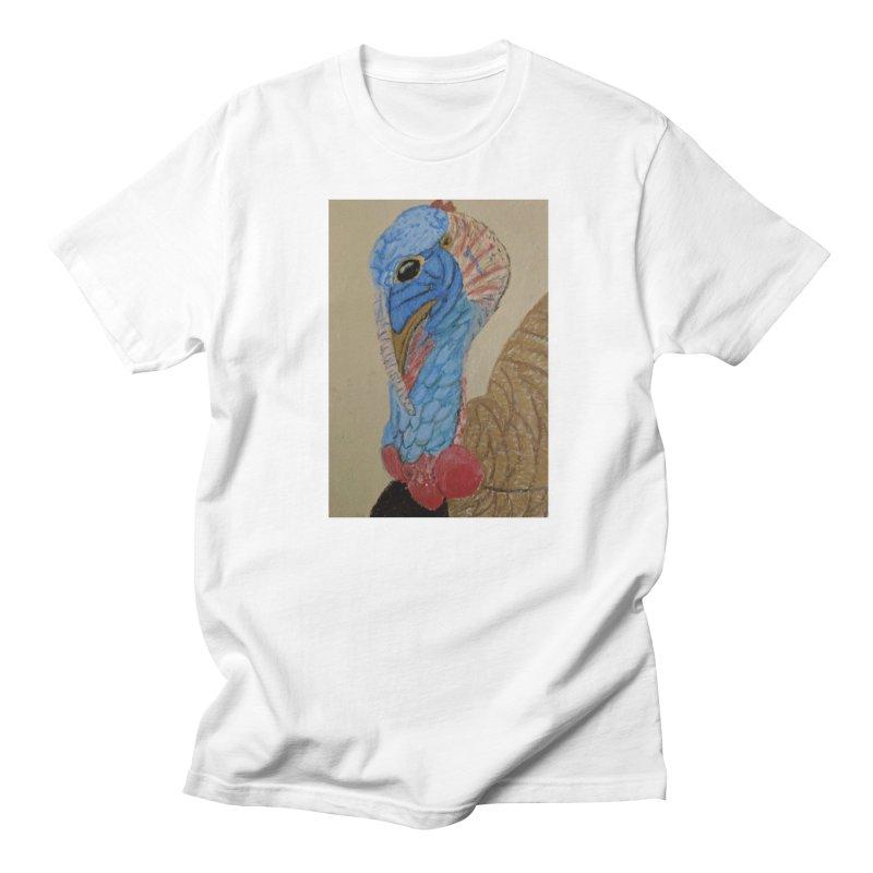 Turkey Men's T-Shirt by Whimsical Wildlife Wares