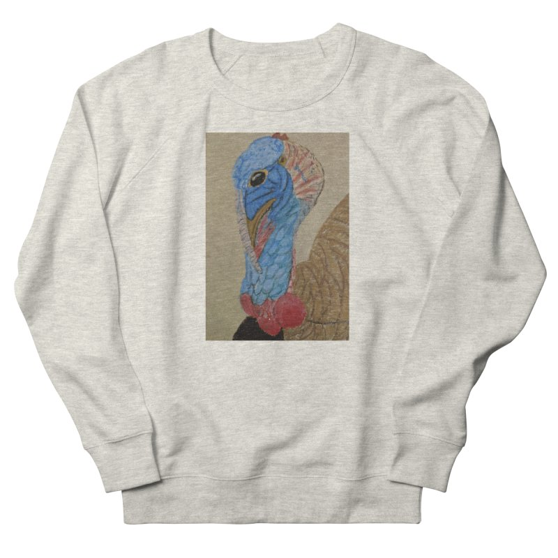 Turkey Men's Sweatshirt by Whimsical Wildlife Wares