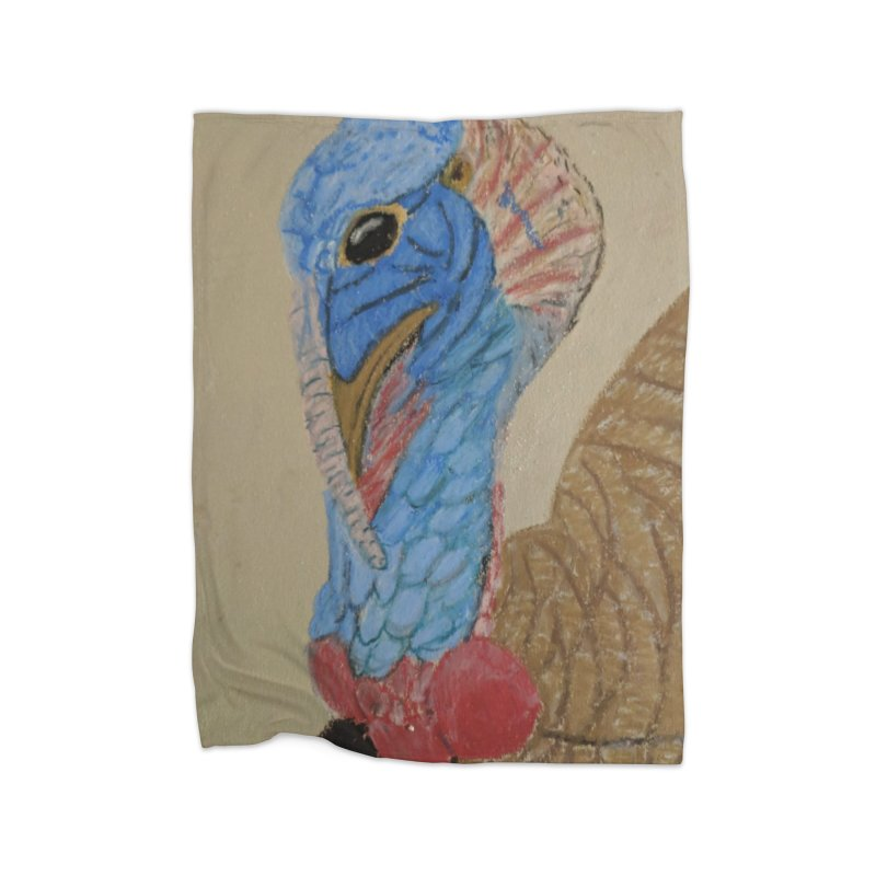 Turkey Home Blanket by Whimsical Wildlife Wares