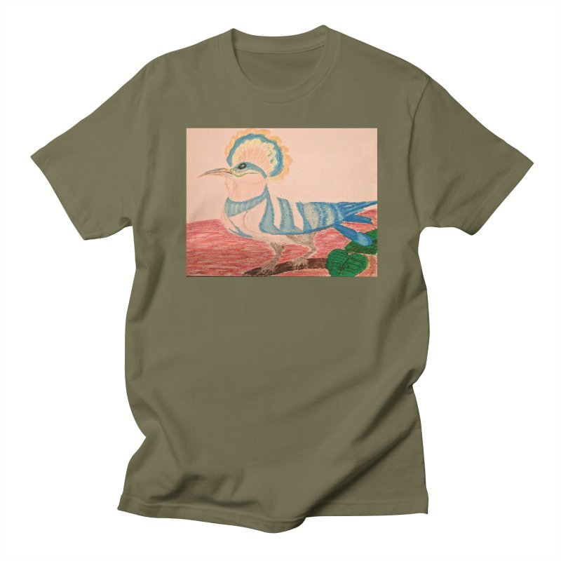 River Hoopoe Men's T-Shirt by Whimsical Wildlife Wares