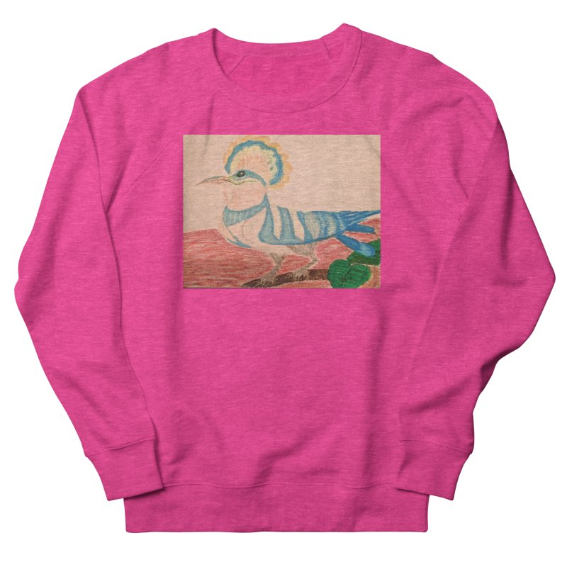 River Hoopoe Women's Sweatshirt by Whimsical Wildlife Wares