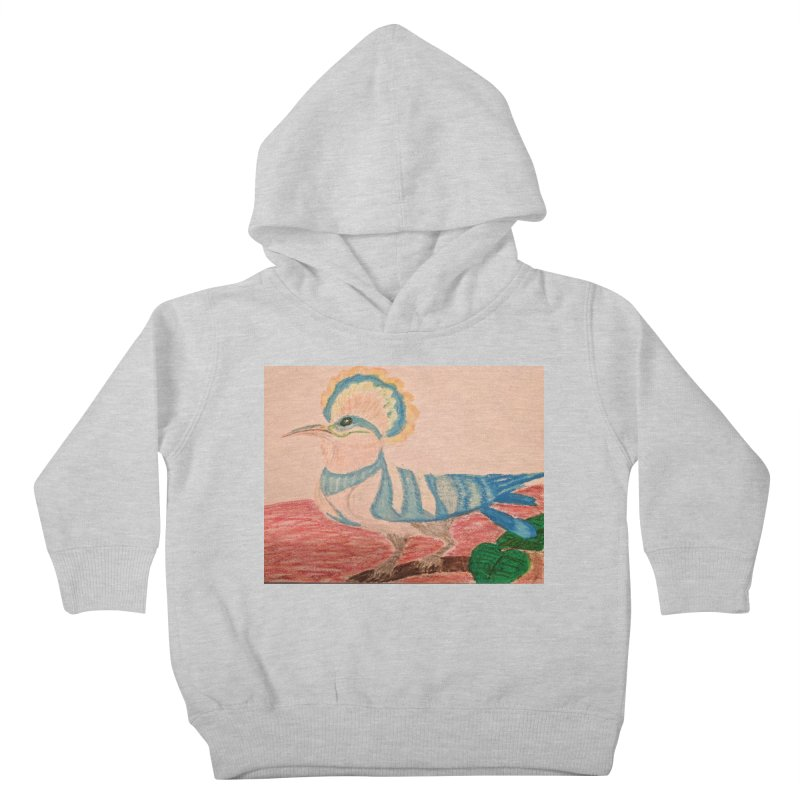 River Hoopoe Kids Toddler Pullover Hoody by Whimsical Wildlife Wares