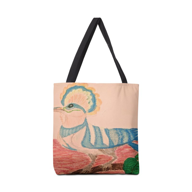 River Hoopoe Accessories Bag by Whimsical Wildlife Wares