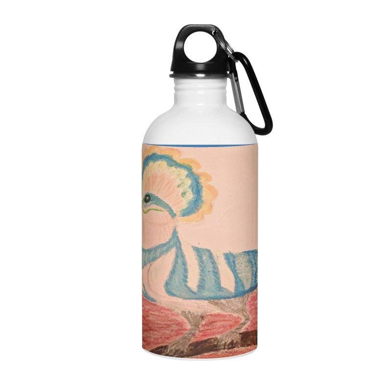 River Hoopoe Accessories Water Bottle by Whimsical Wildlife Wares