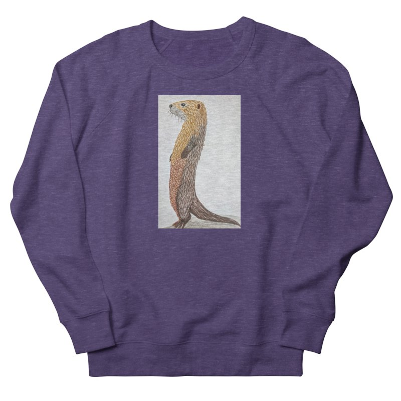 Otter Sentinel Women's Sweatshirt by Whimsical Wildlife Wares