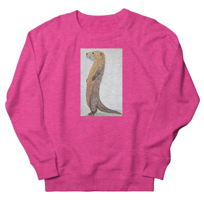 Otter Sentinel Men's Sweatshirt by Whimsical Wildlife Wares