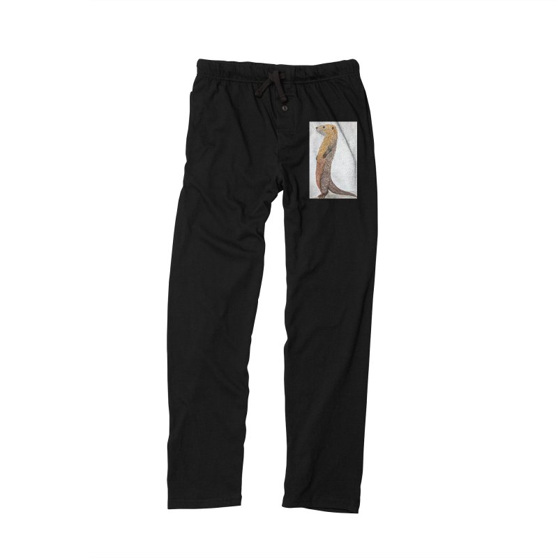 Otter Sentinel Women's Lounge Pants by Whimsical Wildlife Wares