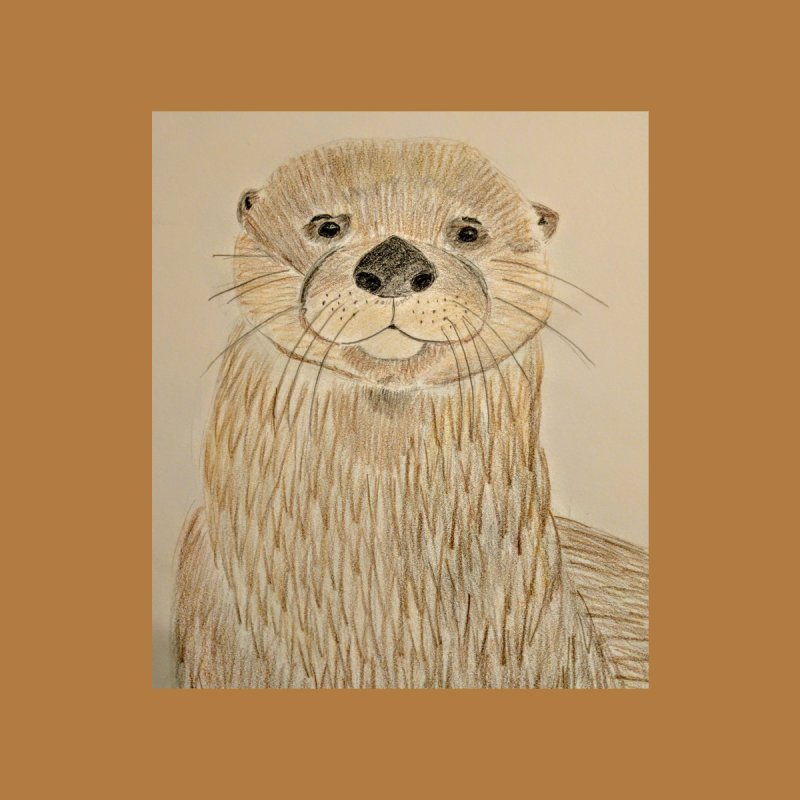Otter by Whimsical Wildlife Wares