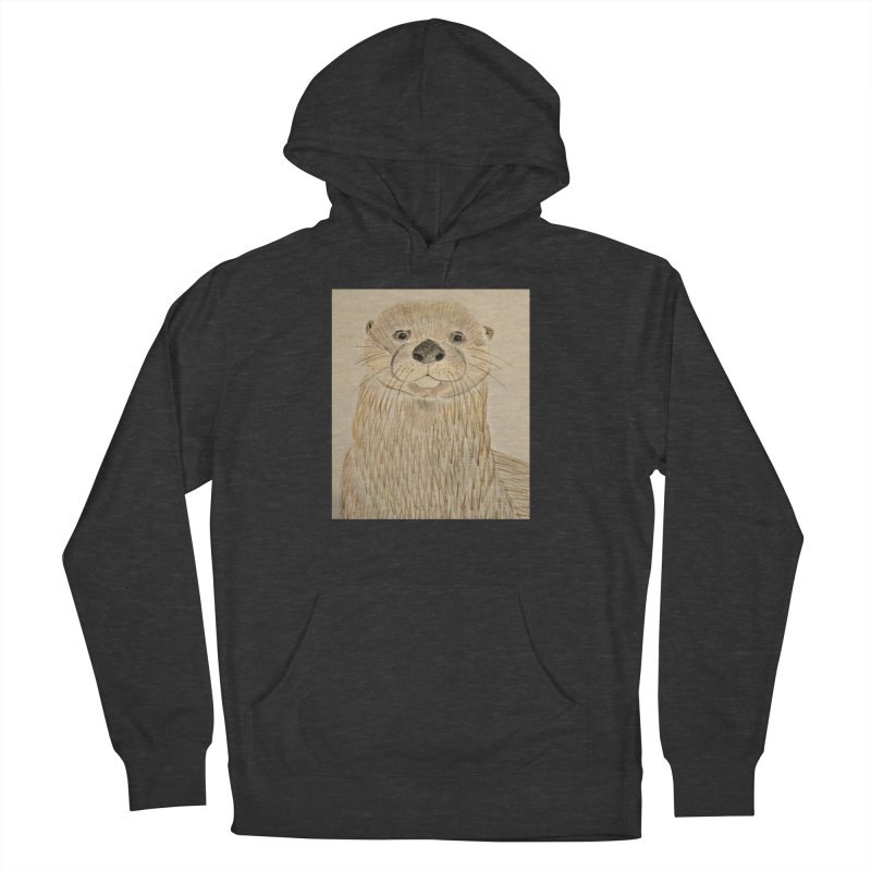 Otter Women's Pullover Hoody by Whimsical Wildlife Wares