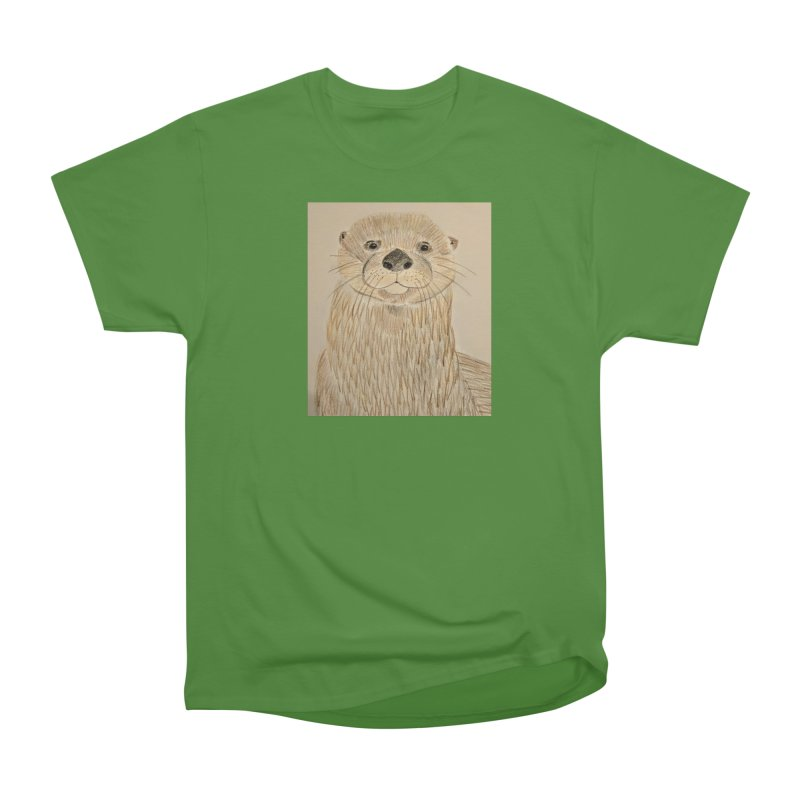 Otter Men's Classic T-Shirt by Whimsical Wildlife Wares