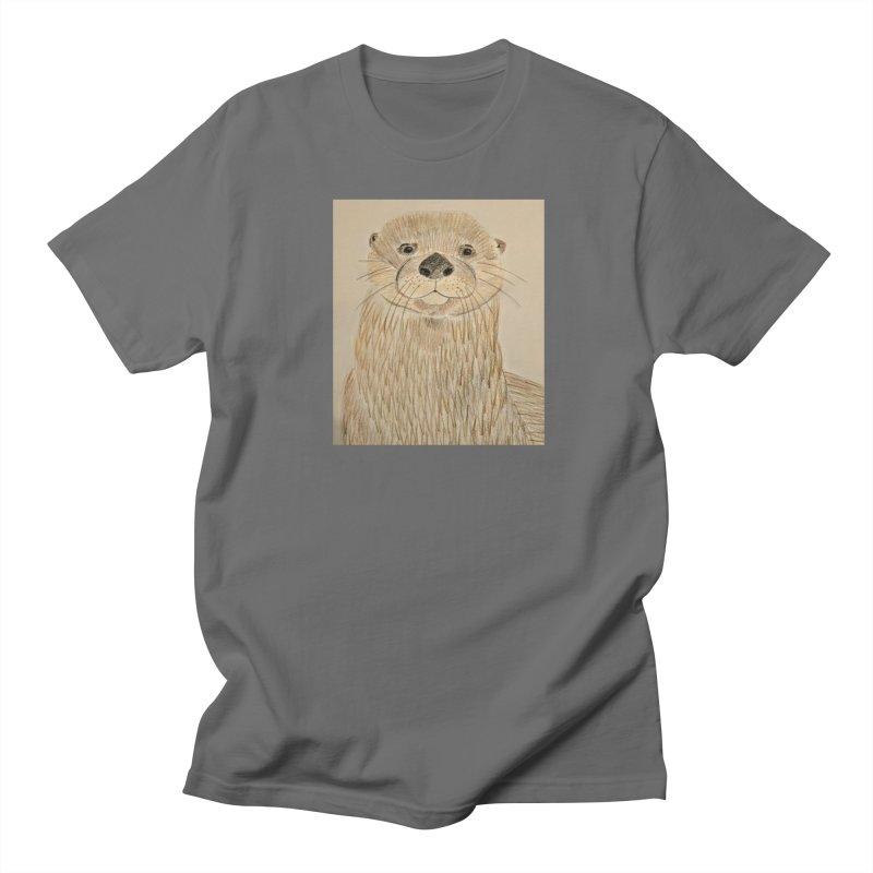 Otter Women's Unisex T-Shirt by Whimsical Wildlife Wares