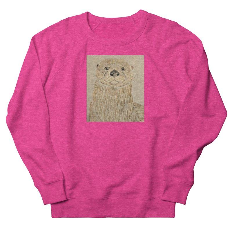 Otter Men's Sweatshirt by Whimsical Wildlife Wares