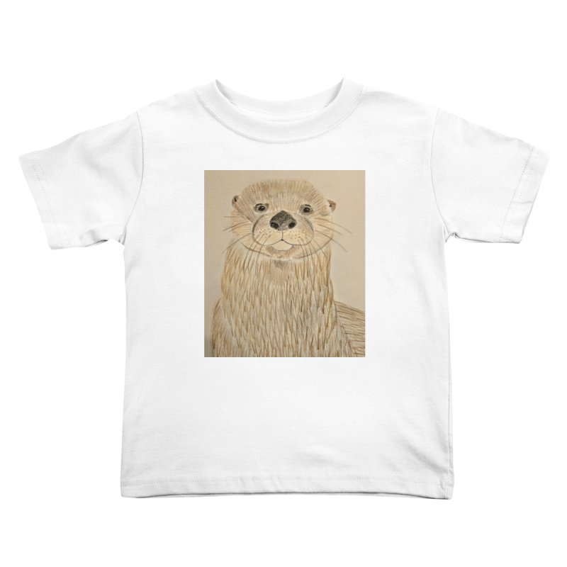 Otter Kids Toddler T-Shirt by Whimsical Wildlife Wares