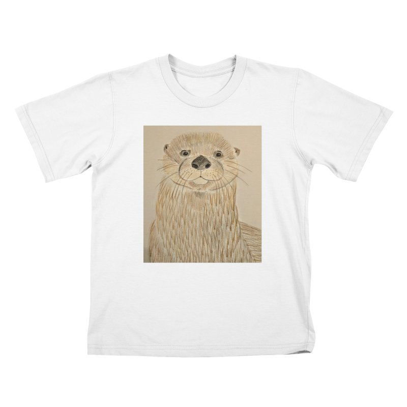 Otter Kids T-Shirt by Whimsical Wildlife Wares