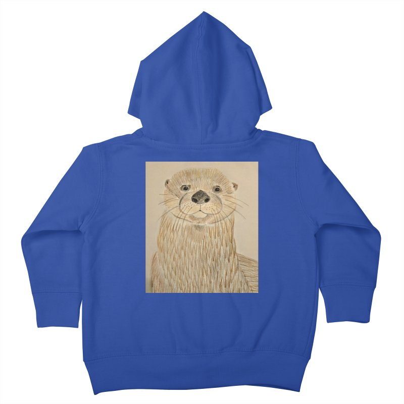 Otter Kids Toddler Zip-Up Hoody by Whimsical Wildlife Wares
