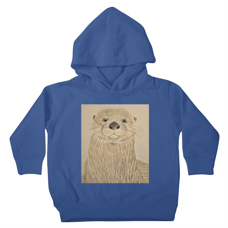 Otter Kids Toddler Pullover Hoody by Whimsical Wildlife Wares
