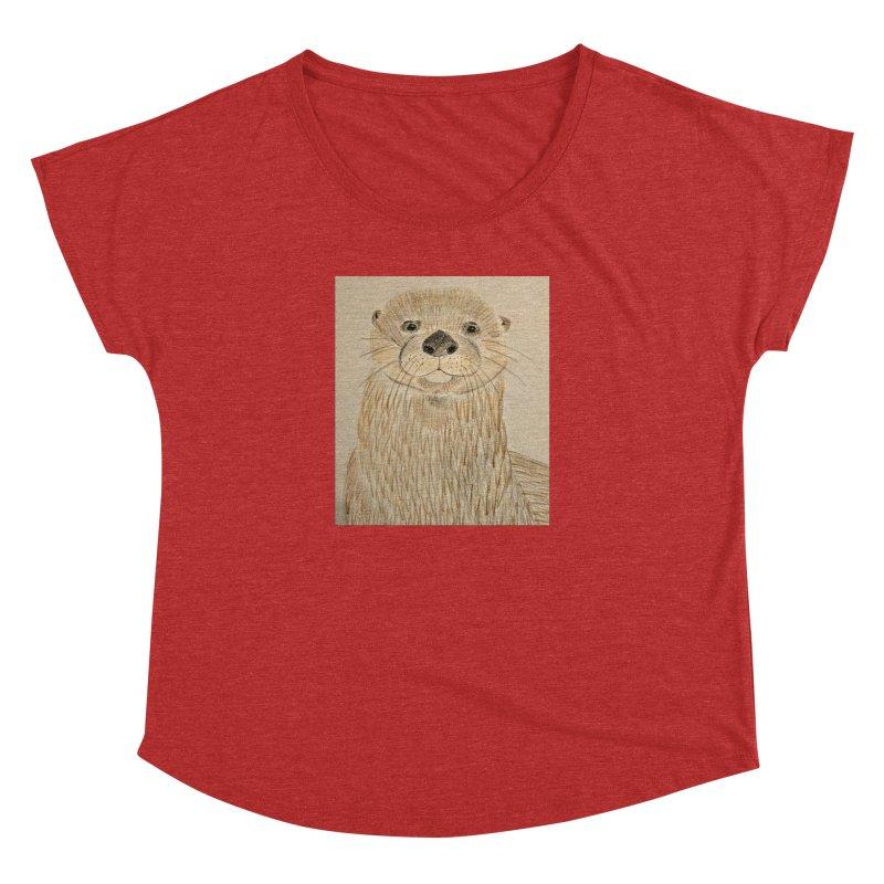Otter Women's Dolman by Whimsical Wildlife Wares