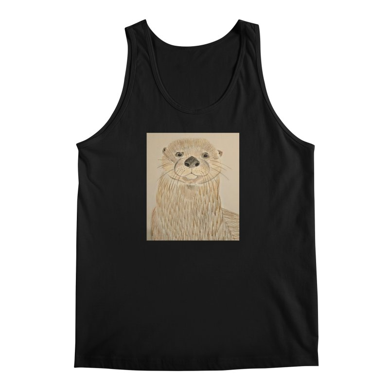 Otter Men's Tank by Whimsical Wildlife Wares