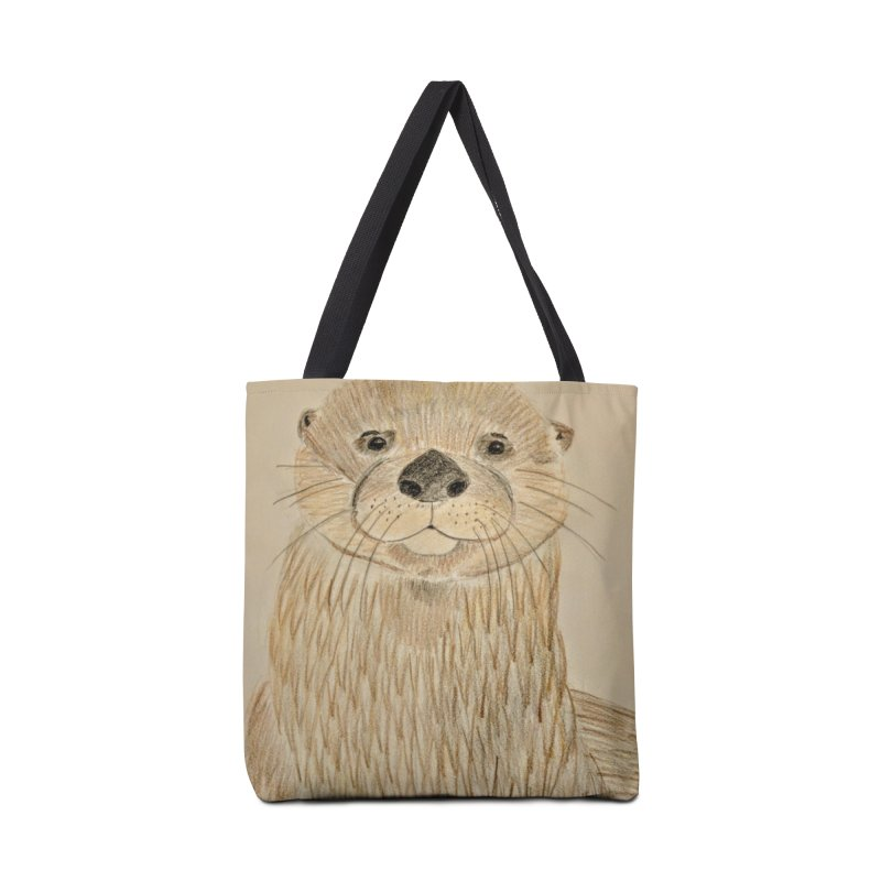 Otter Accessories Bag by Whimsical Wildlife Wares