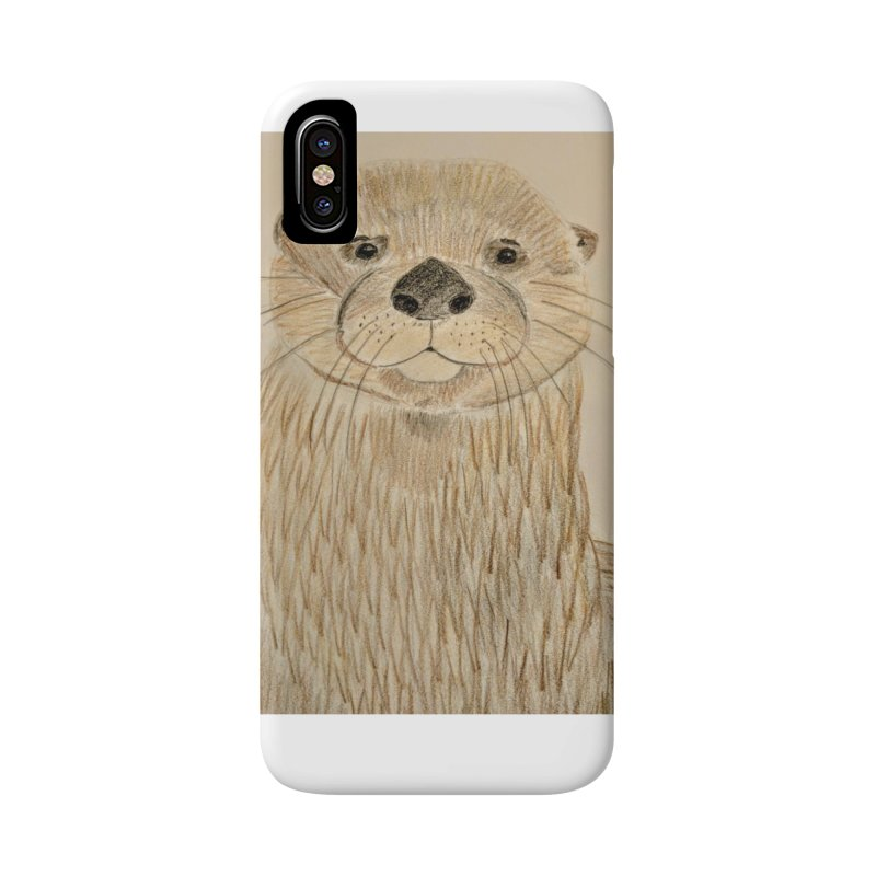 Otter Accessories Phone Case by Whimsical Wildlife Wares