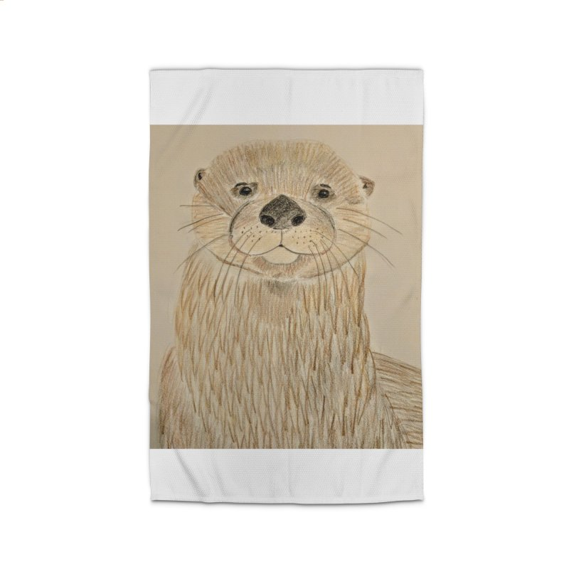 Otter Home Rug by Whimsical Wildlife Wares