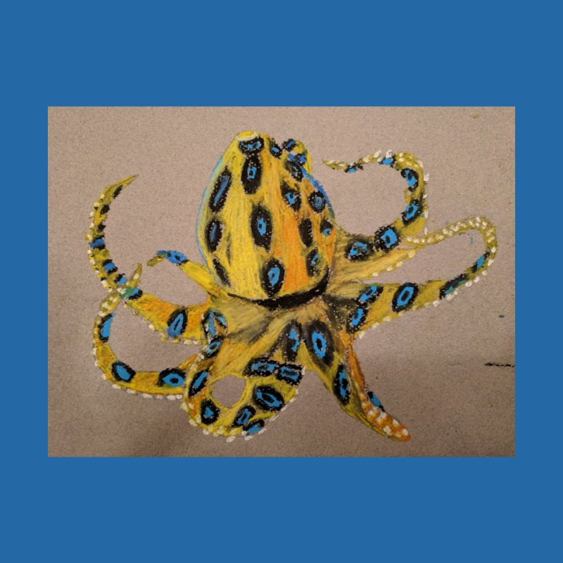 Blue-Ringed Octopus by Whimsical Wildlife Wares