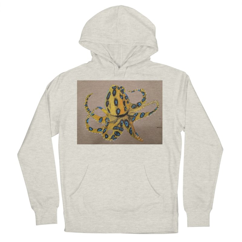 Blue-Ringed Octopus Women's Pullover Hoody by Whimsical Wildlife Wares