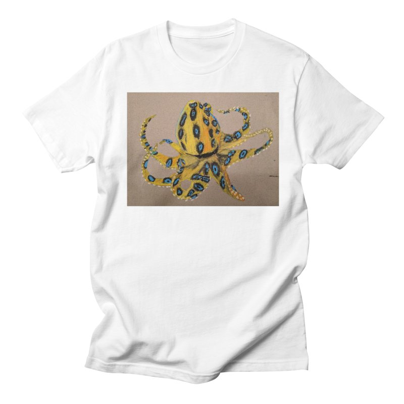 Blue-Ringed Octopus Women's Unisex T-Shirt by Whimsical Wildlife Wares
