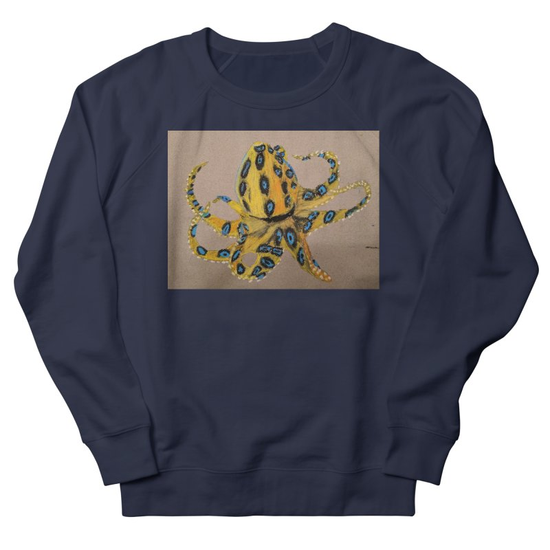 Blue-Ringed Octopus Women's Sweatshirt by Whimsical Wildlife Wares