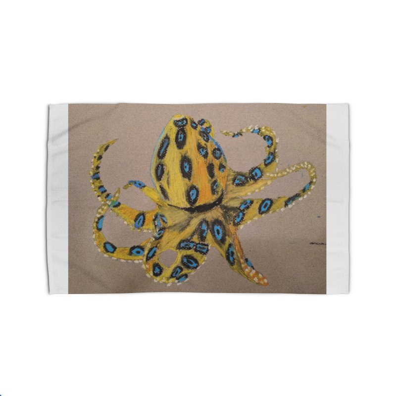 Blue-Ringed Octopus Home Rug by Whimsical Wildlife Wares